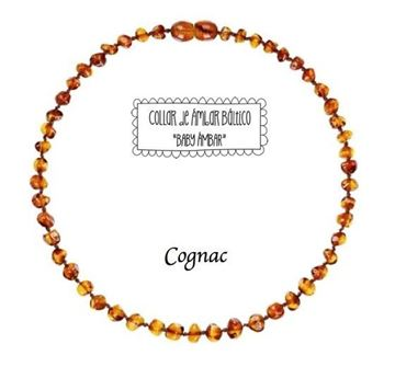 Imagen de Collar Ambar - Cognac