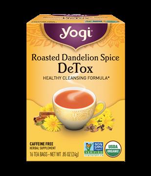 Imagen de Yogi Tea, Roasted Dandelion Spice DeTox