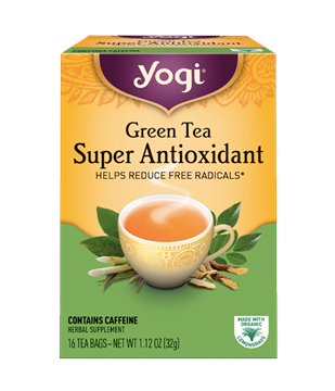 Imagen de Yogi Tea, Green Tea Super Antioxidant