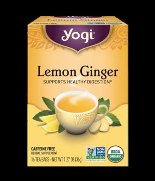 Imagen de Yogi Tea, Lemon Ginger