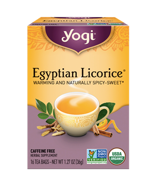 Imagen de Yogi Tea, Egyptian Licorice