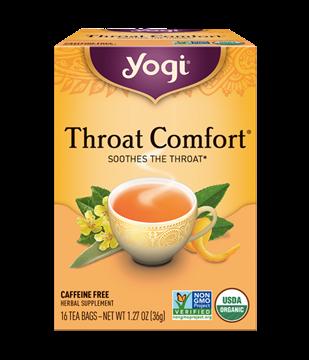 Imagen de Yogi Tea, Throat Comfort